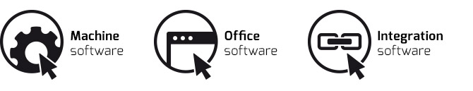 Salvagnini three-levels  software: machine office integration